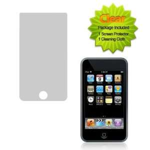 (TM) Custom Fit Clear Screen Guard Protector For Apple iPod Touch