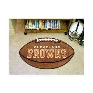 Custom Made   5705   Cleveland Browns Football Rug 22x35