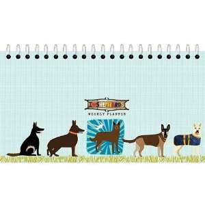 German Shepherds Weekly Undated Easel Desk Calendar Office Products