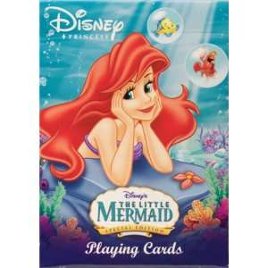 Disney Little Mermaid Ariel Playing Cards (Lying Down