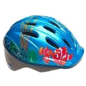 Disney Finding Nemo Kids Bicycle Helmet Blue  Sports