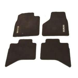 2011 Dodge Ram 4 Pc Carpeted Floor Mat Set ~ OEM Brown Automotive
