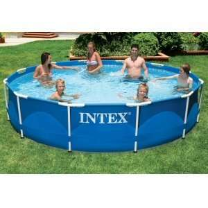 Intex Round Metal Frame Set 12X30 Pool Toys & Games
