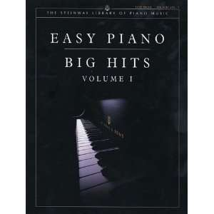 Easy Piano Big Hits, Volume I Book