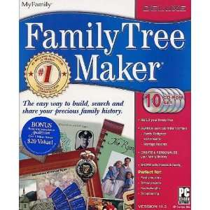 Family Tree Maker Deluxe 11.2 Electronics