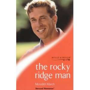 Ridge Man (Sensual Romance) (9780263823899) Meredith March Books
