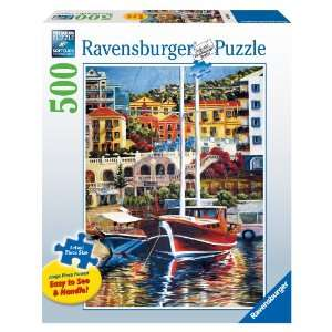 Ravensburger Exotic Harbor   500 Pieces Large Format Puzzle  Toys