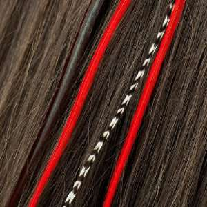 Originals, Red   Natural Feather Hair Extension (1 extension): Beauty