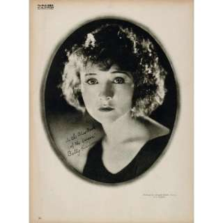 1923 Betty Compson Silent Film Actress Biography Print