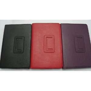 Leather Folio Case Cover for  Kindle Fire 7 inch Android Tablet