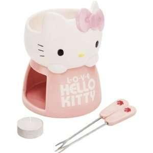 Sanrio Hello Kitty Hello Kitty Fondue Set #1997  Kitchen