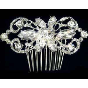 Rhinestone Hair Comb 2336 Beauty