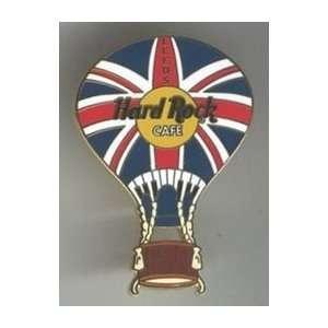Hard Rock Cafe Pin 19989 Leeds Union Jack Hot Air Balloon