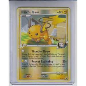 Raichu LV. 46 Holo Rare Pokemon #31: Sports Collectibles