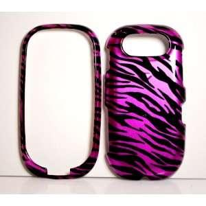 Hot Pink Zebra Strips Snap on Hard Skin Shell Protector