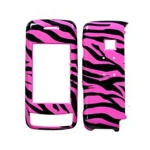 on Protector Faceplate Cover Housing Case   Hot Pink/Black Zebra Skin