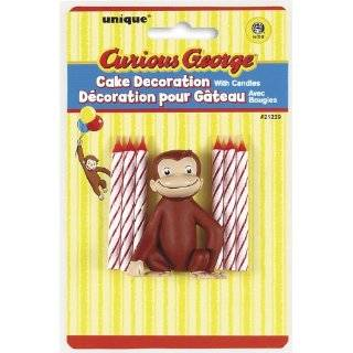 Party Supplies   Curious George Cake Toppers : Toys & Games :