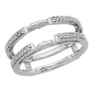 Wedding Band in 18kt White Gold Carat Total Weight 0.18 Jewelry