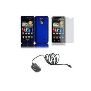 LG Spectrum (Verizon) Premium Combo Pack   Blue Hard