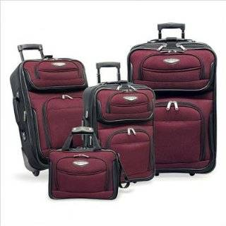 Travel Select Amsterdam 4 piece Luggage Set , Color Red (TS 6950)