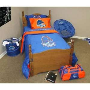Boise State Broncos BSU Full/Queen Bed In A Bag Set Sports & Outdoors