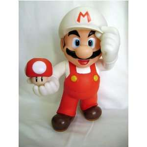 Mario Bros Super Fire Mario Brother 12 inch figure Toys & Games