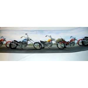 Chopper Motorcycle Wallpaper Border