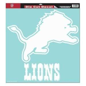 Detroit Lions NFL Die Cut Decal