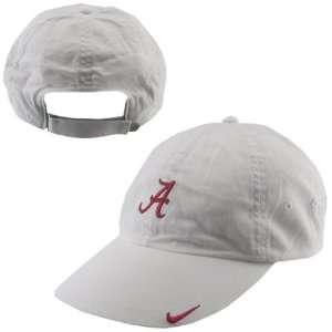 Nike Alabama Crimson Tide White Ladies Turnstile Hat
