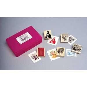 Sax Fine Art Rubber Stamp Set