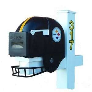Pittsburgh Steelers Helmet Mailbox