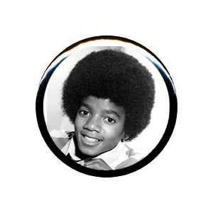 1 Michael Jackson Young Face Button/Pin