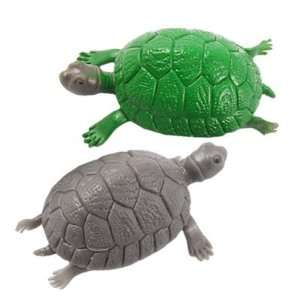 Como Plastic Green Gray Tortoise Fish Tank Decoration
