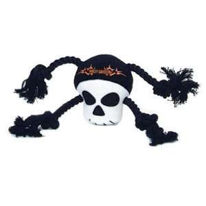 Harley Davidson Plush Rope Tug Toy Skull: Pet Supplies