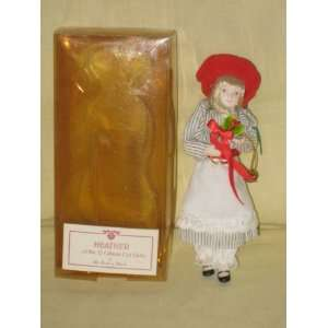 Heather  Gibson Girl Porcelain Doll   7 Inches Everything Else