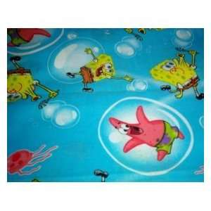 NEW TOILET SEAT LID COVER MADE FROM SPONGE BOB FABRIC