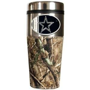 com Dallas Cowboys Realtree Camo Travel Coffee Mug Sports & Outdoors