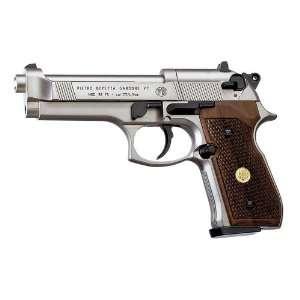 Refurbished Beretta Air Pistol Nickel with Wood Grips