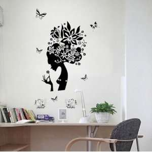 Fairy removable Vinyl Mural Art Wall Sticker Decal