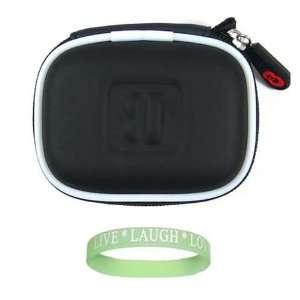 Kroo SD Memory Card Case Holder ( Black ) + Live*Laugh