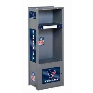 Houston Texans NFL Wood Laminate Team Locker