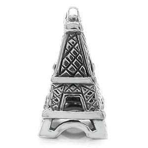 EIFFEL TOWER Travel Vacations Solid Sterling Silver Fits