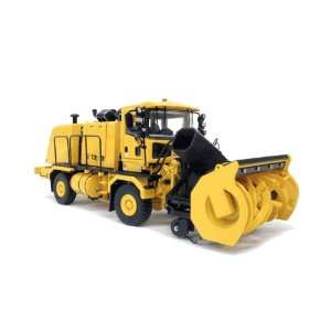 with HB Series Snow Blower   Yellow in 150 scale by TWH Toys & Games