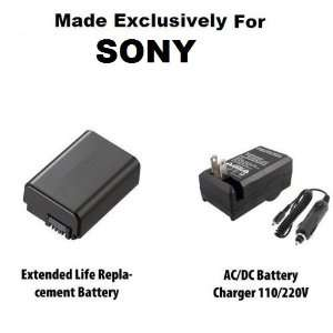 Life Replacement Battery Pack For Sony NP FW50 1500MAH For The Sony