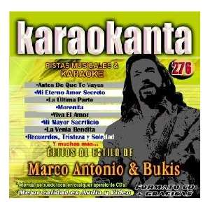 KAR 4276   Al Estilo de Marco & Bukis   I Spanish CDG: Everything Else