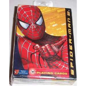 Spider Man 2 Deck Playing Cards Toys & Games