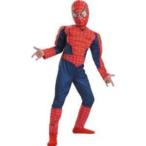 Deluxe Child Spiderman Costume and Accessories: Toys & Games