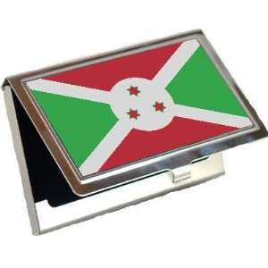 Burundi Flag Business Card Holder