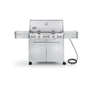 Summit S 670 Natural Gas Grill, Stainless Steel Patio, Lawn & Garden