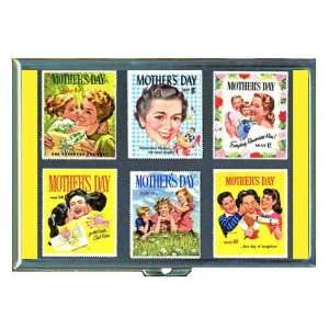 Mothers Day Retro Stamps ID Holder, Cigarette Case or Wallet MADE IN